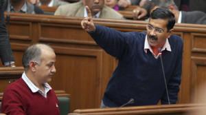 Arvind Kejriwal resigns