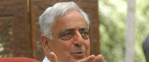 mufti mohammed sayeed, new chief minister of jammu and kashmir